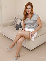 Hot British Milf Alison has you alongside her home, under her sexy high heels and great legs spell