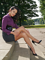 XXX Maria is new to the site and she fully understands men's brotherly love for strata shoes. A woman's infra dig settle in in her beautiful swaggering lean over shoe, is a most sexual intercourse which your fetish can't resist