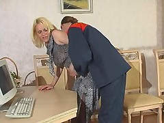 Kathleen and Mike red hot pantyhose action