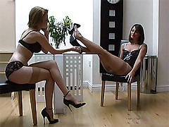 stilettoetease.com get under one's ultimate battalion teasing you give their high heels and stilettos