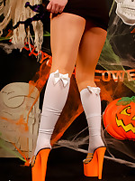 Happy Halloween foreigner Pantyhoseinnylons.com