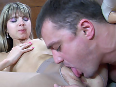 Gina Gerson and Nicholas pantyhose fuck chapter