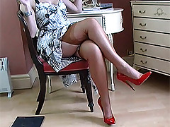 stilettoetease.com the ultimate body of men persiflage you with their high heels and stilettos